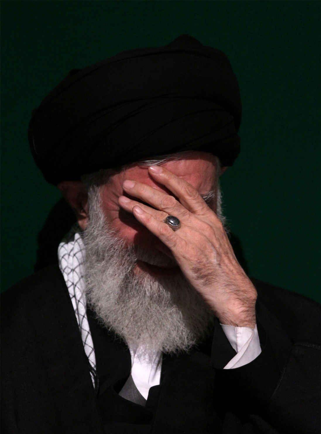 Ayatollah Khamenei Sayyed Ali Hosseini Khamenei Is The Second And