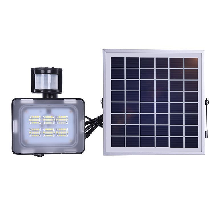 2pcs Kaigelin Led Solar Flood Light 10w Flood Lamp With Pir Motion Sensor 5730 Smd 600lm Cold Wh Solar Lights Solar Flood Lights Outdoor Solar Lights