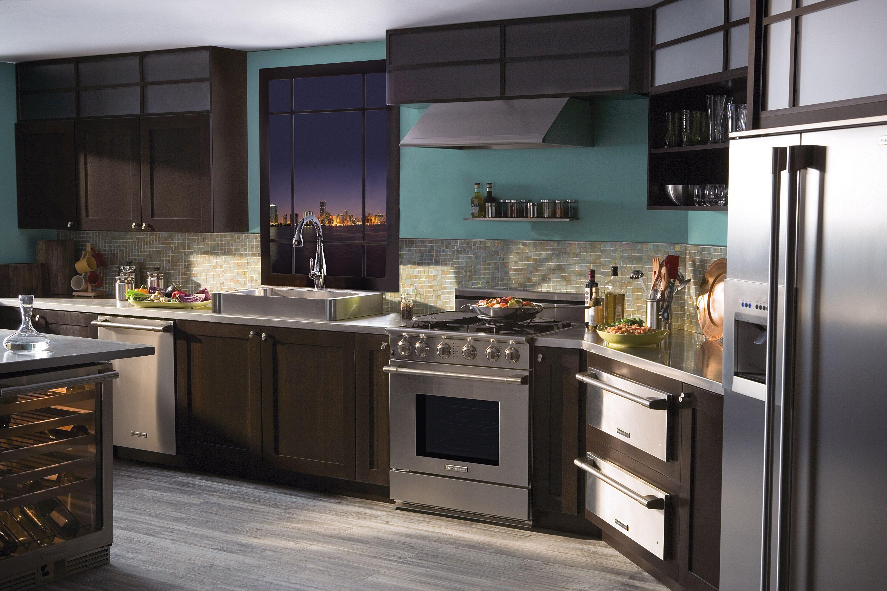 Dream Kitchen Design Classy Gorgeous Kitchen And View #dreamkitchen #kitchen #electrolux Inspiration