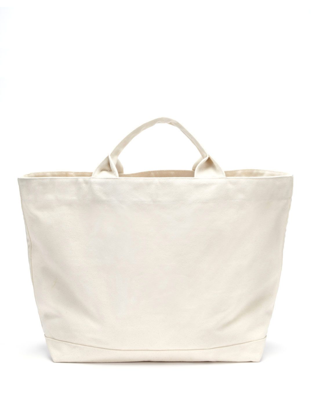 Quit Mad Stop Large Canvas Bag