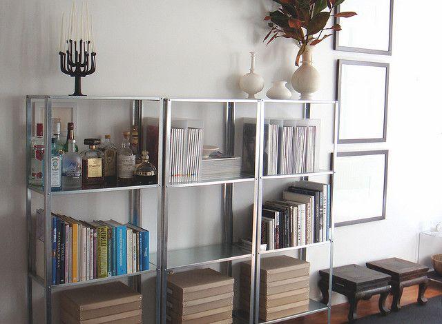 My Apartment Bookshelves Mid Progress Shelves Living
