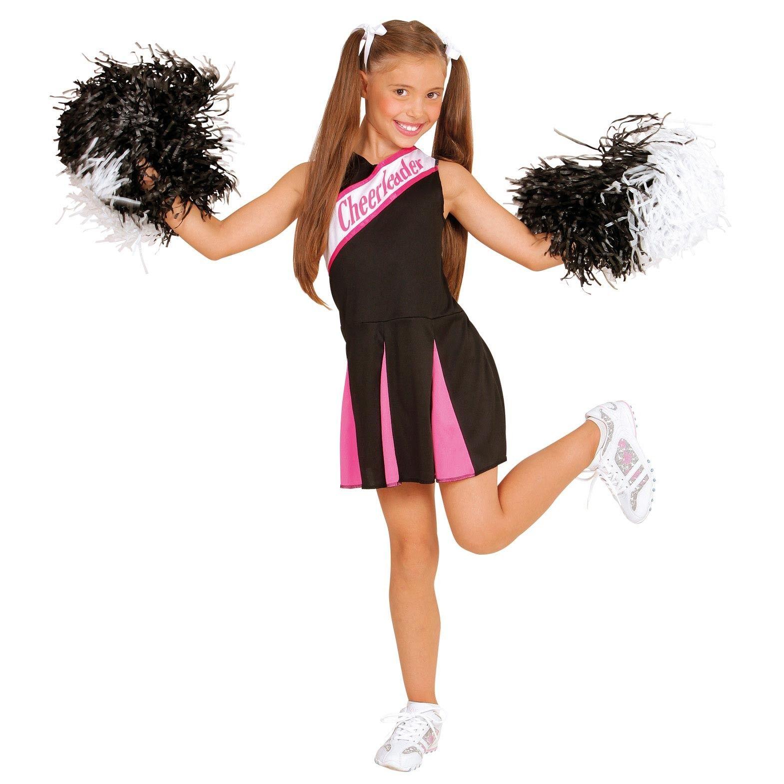 Cheerleader Kinderkostum Schwarz Pink Faschingskostume Madchen Kinder Kostum Madchen Kostume
