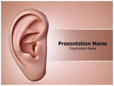 Download Our State Of The Art Ear Ppt Template Make A Ear