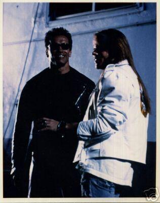 Guns N' Roses News on Twitter   Axl rose, Terminator, Arnold schwarzenegger
