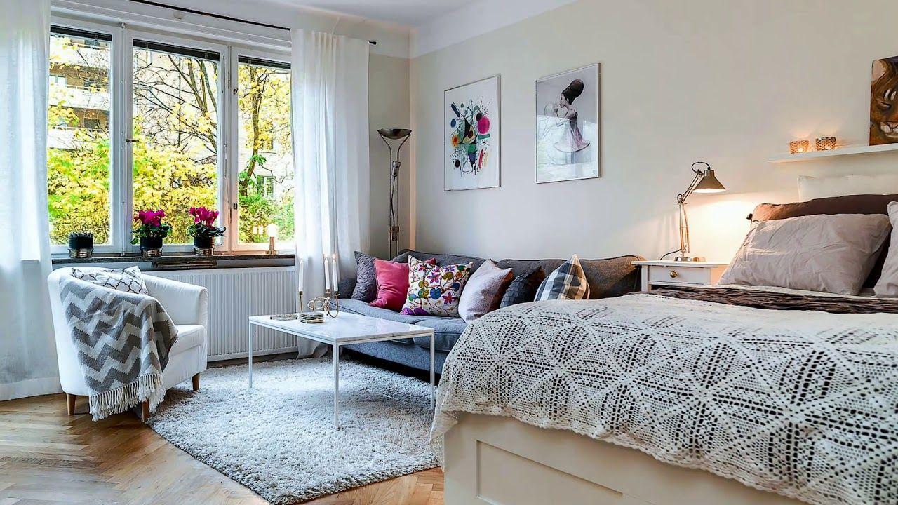 Small Studio Apartments 50 Creative Design Decorating Ideas ...