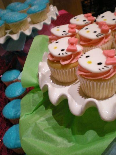 Hello Kity Cupcakes Cupcakes Cupcake Cakes Hello Kitty Birthday