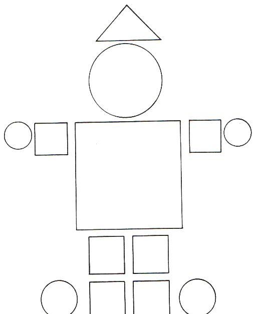 Para Formar Dibujos Con Las Figuras Geométricas De La Web