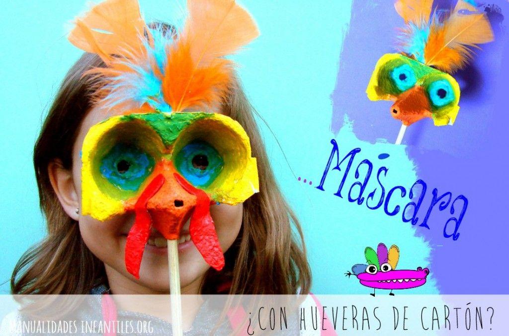 M scara de pavo reciclada recycled costume for kids recycled costumes costumes y recycling - Mascaras para carnaval manualidades ...