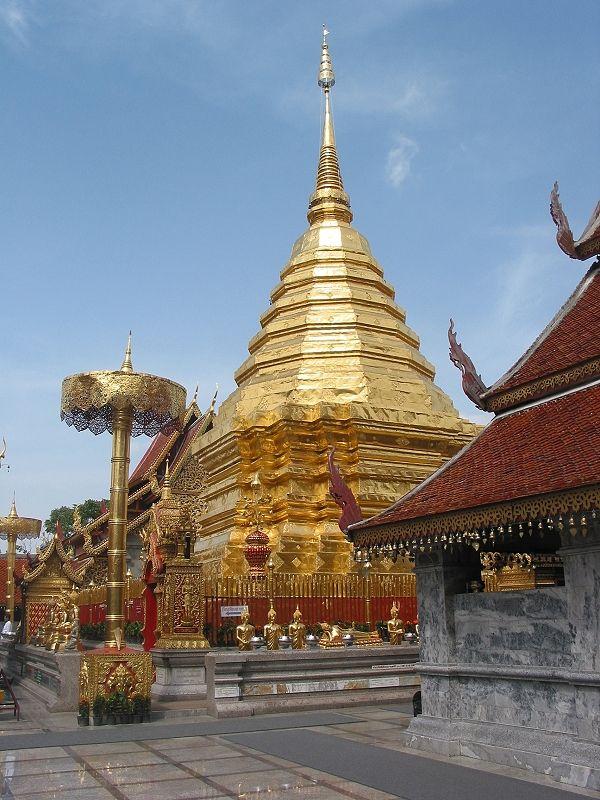 wat phrathat doi suthep chiang mai   Wat Phra That Doi Suthep