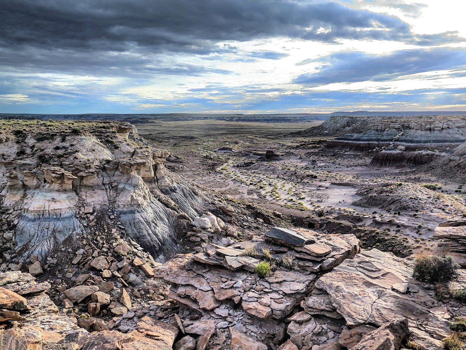 Petrified Forest National Park Arizona [OC][1600x1200]