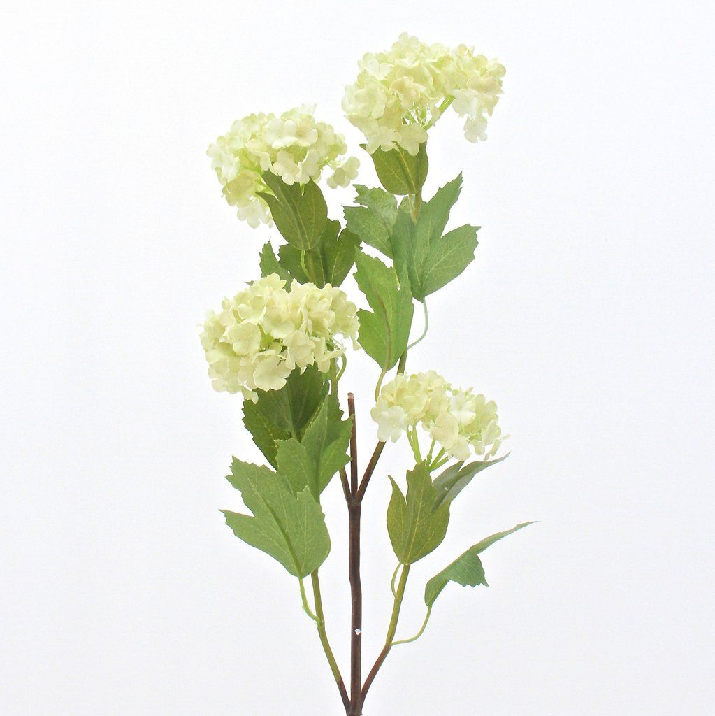 Green viburnum snowball faux flowers silk flowers and fabric flowers green viburnum snowball faux flowerssilk izmirmasajfo