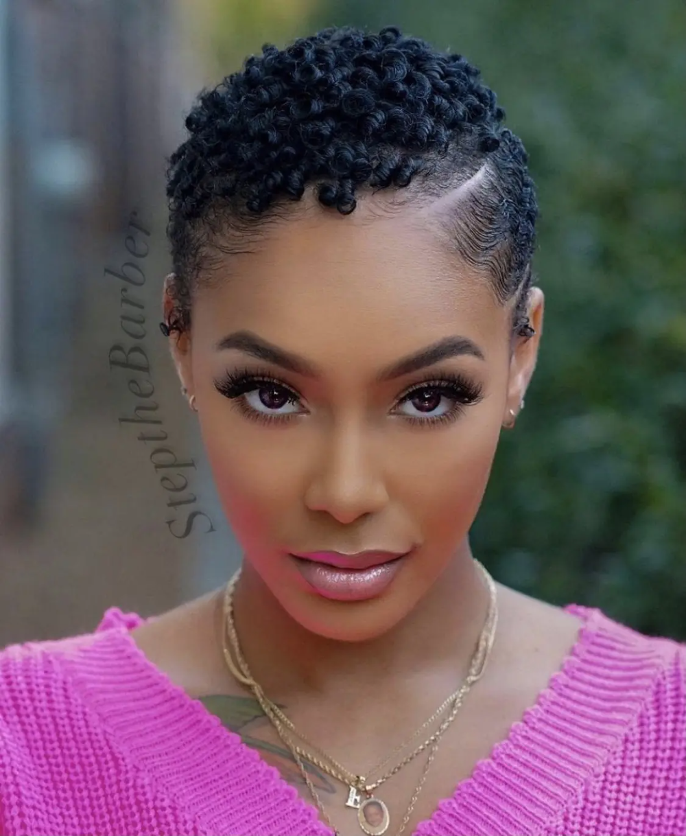 The New Big Chop  Taking Care of Your Short Natural Hair After Cutting It   Curly Nikki Gallery