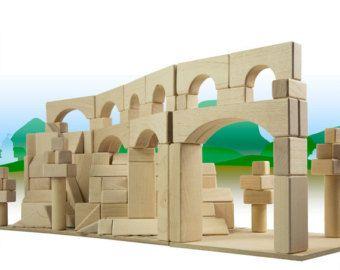 Mighty Blocks Roman Aqueduct Project | Wooden blocks toys ...