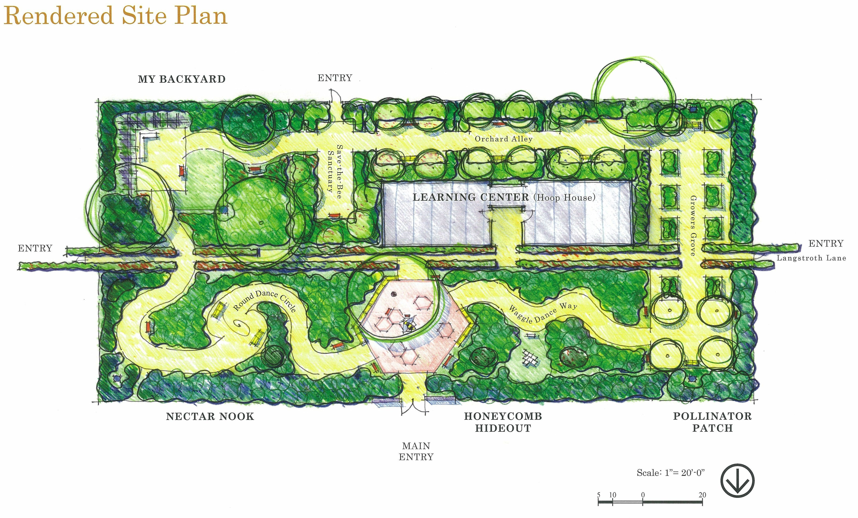 Uc Davis Department Of Entomology Sibbettgroupplan Jpg 4299 2594 Bee Garden Design Garden Planning Garden Planning Tool