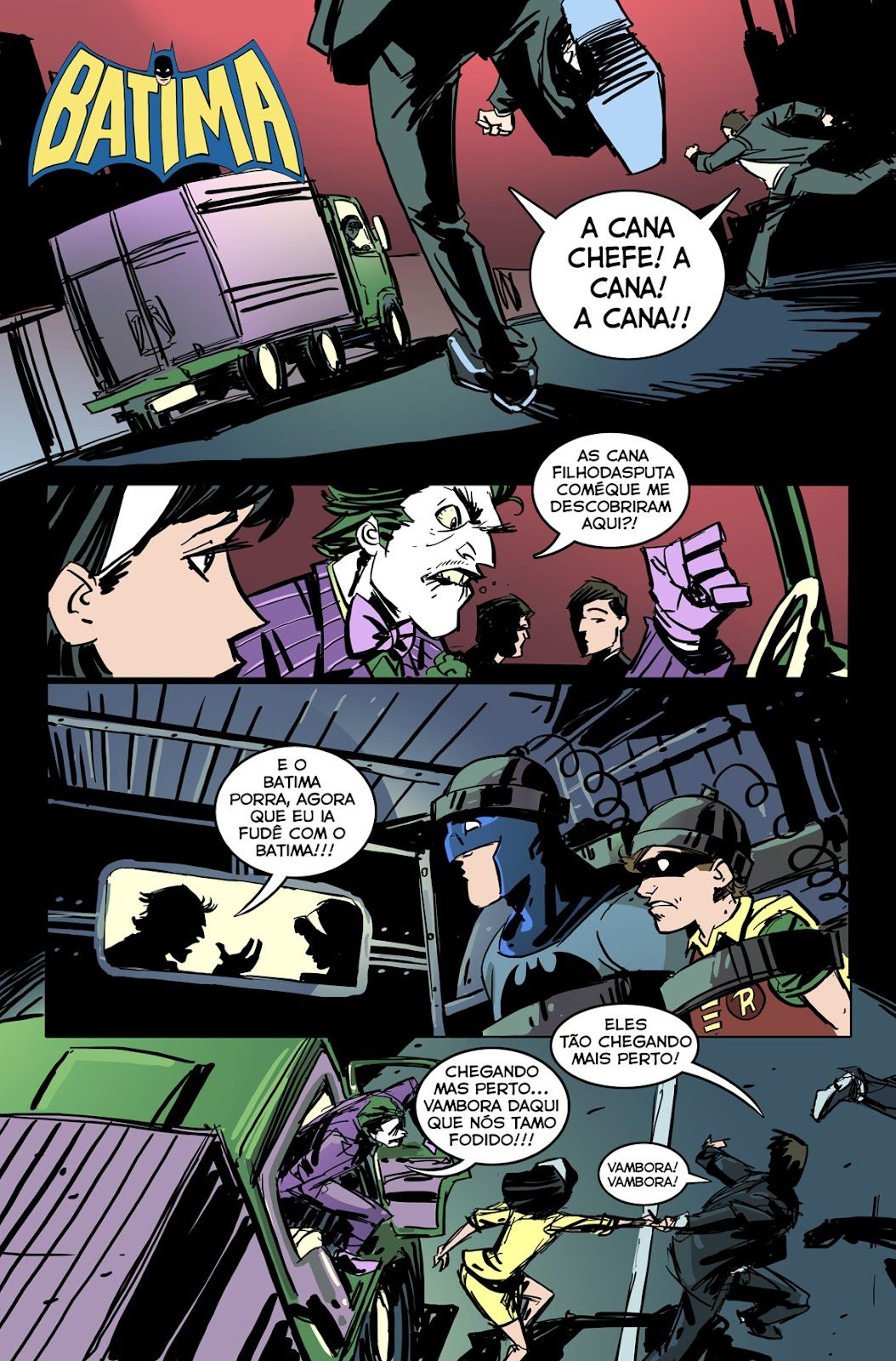 Frank Miller tremendo nas bases com esta promessa da obra definitiva do Batman.