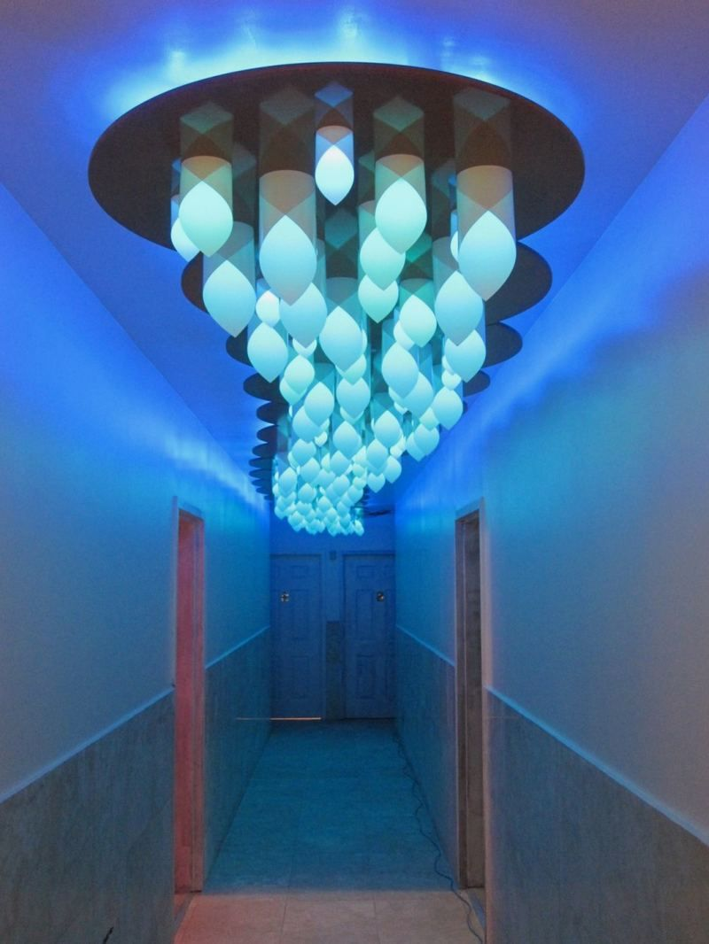 Small blue ceiling light lighting pinterest blue ceilings small blue ceiling light mozeypictures Image collections