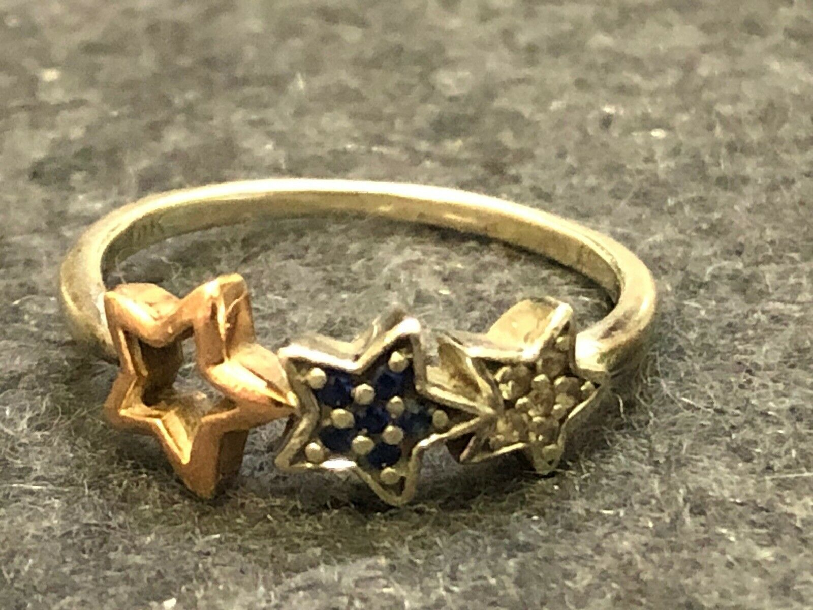 Vintage Sterling Silver 10k Gold Star Ring Vintage Ring Ideas Of Vintage Ring Vintagering Ring Jewelry 0 The Post Vintage Sterling Silver 10k Gol In 2020