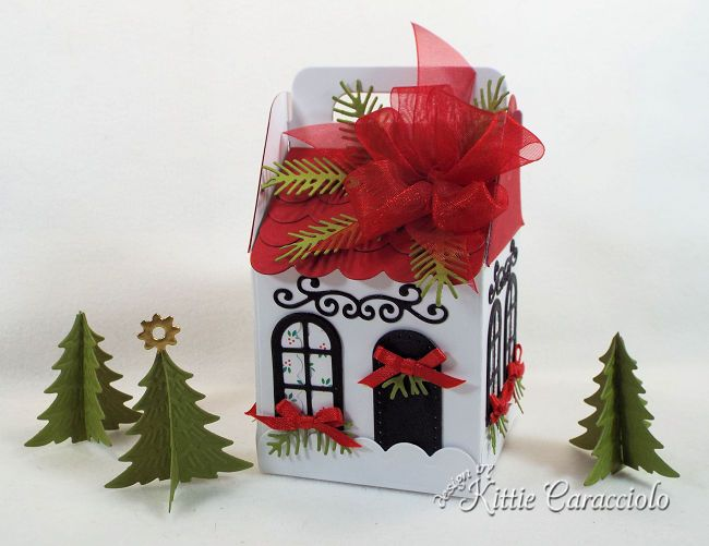 Charming Cottage Box Village Kittie Kraft Originals Pinterest