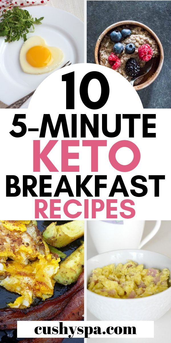 10 Easy 5-Minute Keto Breakfast Ideas images