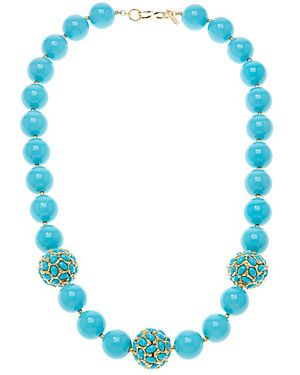 Kenneth Jay Lane Resin Necklace
