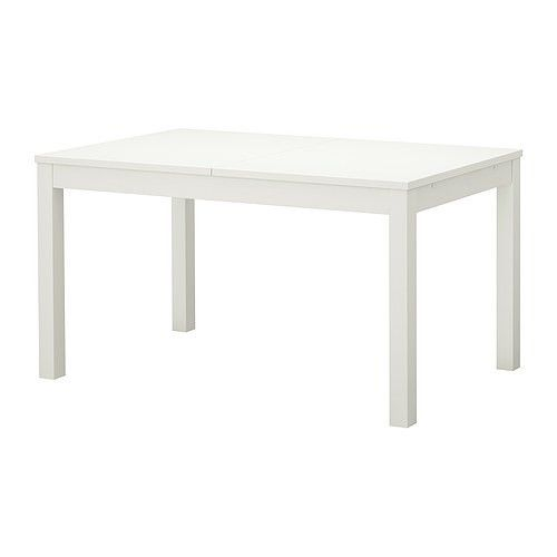 Ikea Bjursta Extendable Table White 140 180 220x84 Cm Free P P See Shipping Page Dining Table Ikea Ikea Dining