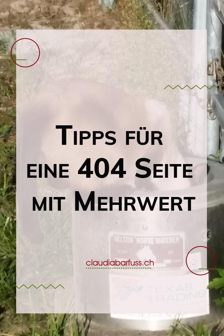 Tipps Fur Eine Individuelle 404 Seite Mit Mehrwert Homepage Erstellen Tipps Seiten