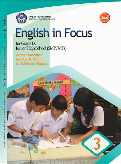 Download Buku Siswa KTSP SMP dan MTs Kelas 9 English in Focus