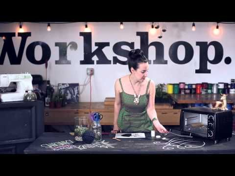How-to: Shrinky Dink Jewelry. Featuring Francis the cat! #diy