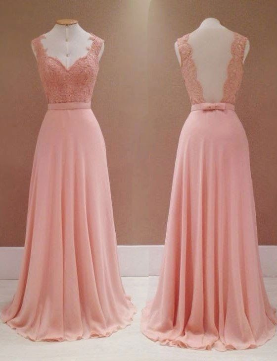 Fashion Bridesmaid Dress,Appliques Bridesmaid Dress,Charming ...