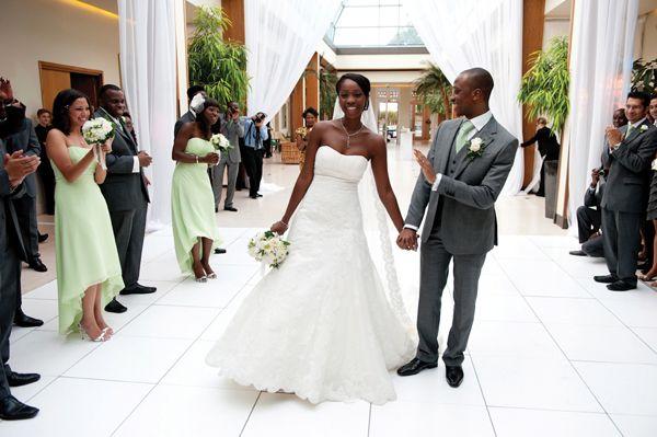 Nigerian Weddings Real Uk Wedding Ade Yomi Munaluchi Bridal Magazine
