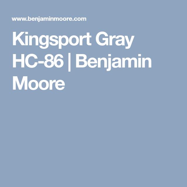 Best Hc 86 Kingsport Gray Benjamin Moore Benjamin Moore 640 x 480