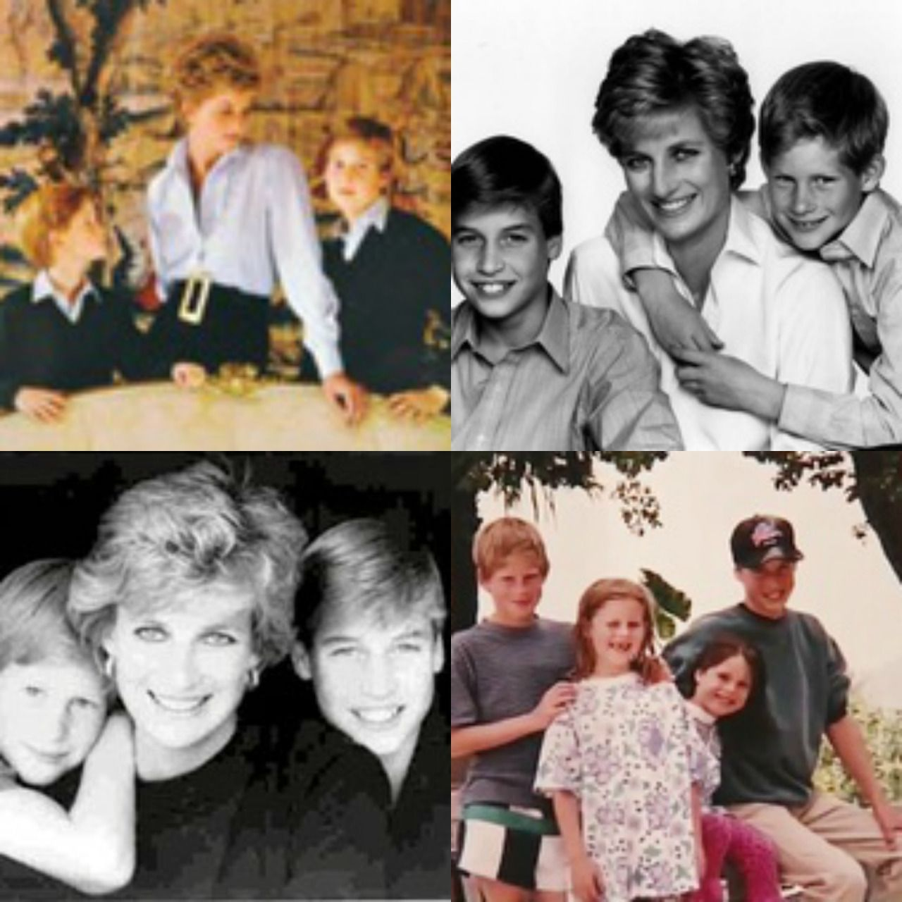 """"""" Diana Princess of Wales: Christmas Card Pictures 1981-1996 """""""