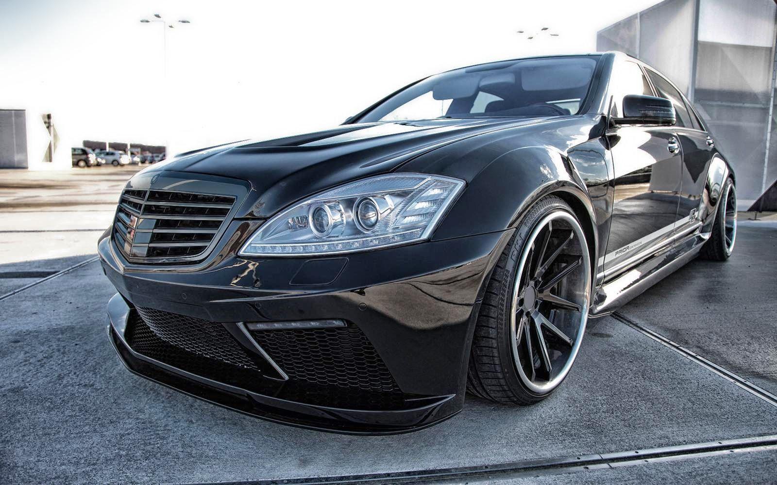 MercedesBenz W221 SClass VIP Style by Prior Design