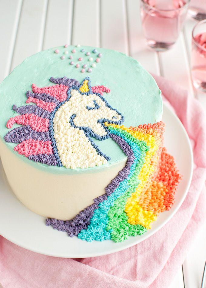 Puking Unicorn Cake Recipe Cake Easy And Birthday Cakes