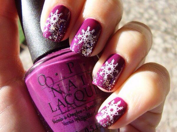 Winter Nail Art Hair Nails Makeup Pinterest Nail Art Nails