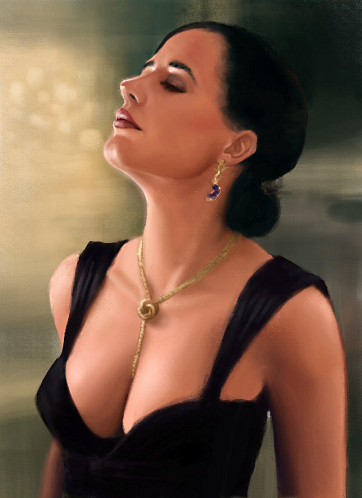 Vesper Lynd Loveknot Necklace Vesper Lynd Eva Green
