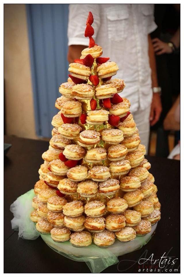 pi ce mont e en mini tropezienne mariage en 2019 french wedding cakes wedding cake. Black Bedroom Furniture Sets. Home Design Ideas