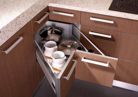 Corner Kitchen Cabinet Drawer