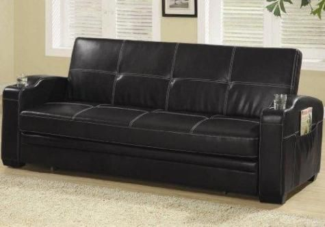 Leather Sofa Bed For The Basement Home Decor Pinterest - Fina-leather-sofa-by-athomeusa