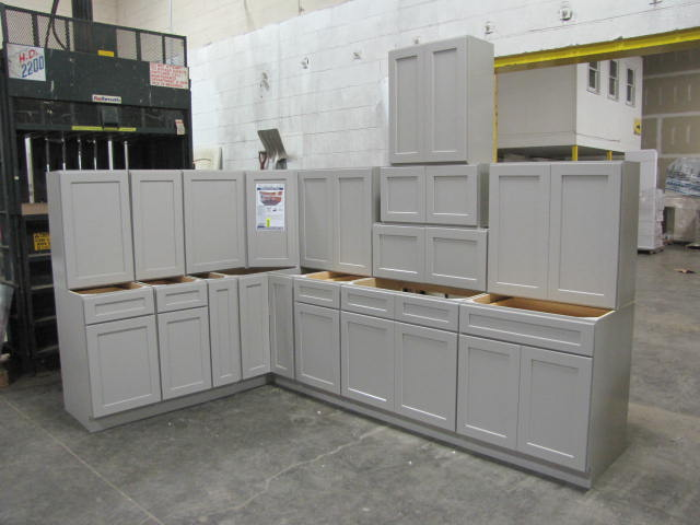Item 6 Stone Harbor Gray Kitchen Cabinet Set 12 X12 Standard Layout By Ghi Additional Pie Grey Kitchen Cabinets Shaker Style Doors Kitchen Set Cabinet
