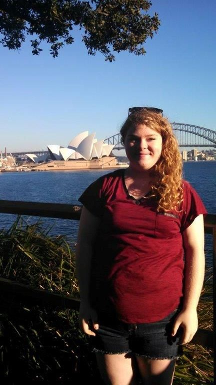 Katie Albert from Waterloo hopes to visit all seven continents.  Through Girl Scouts, she has already been to four by the age of 17!