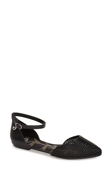 0e8417d5073c Mel by Melissa 'Pitanga' Ankle Strap Flat (Women) available at #Nordstrom