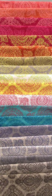 Like all of these bright coloured fabrics