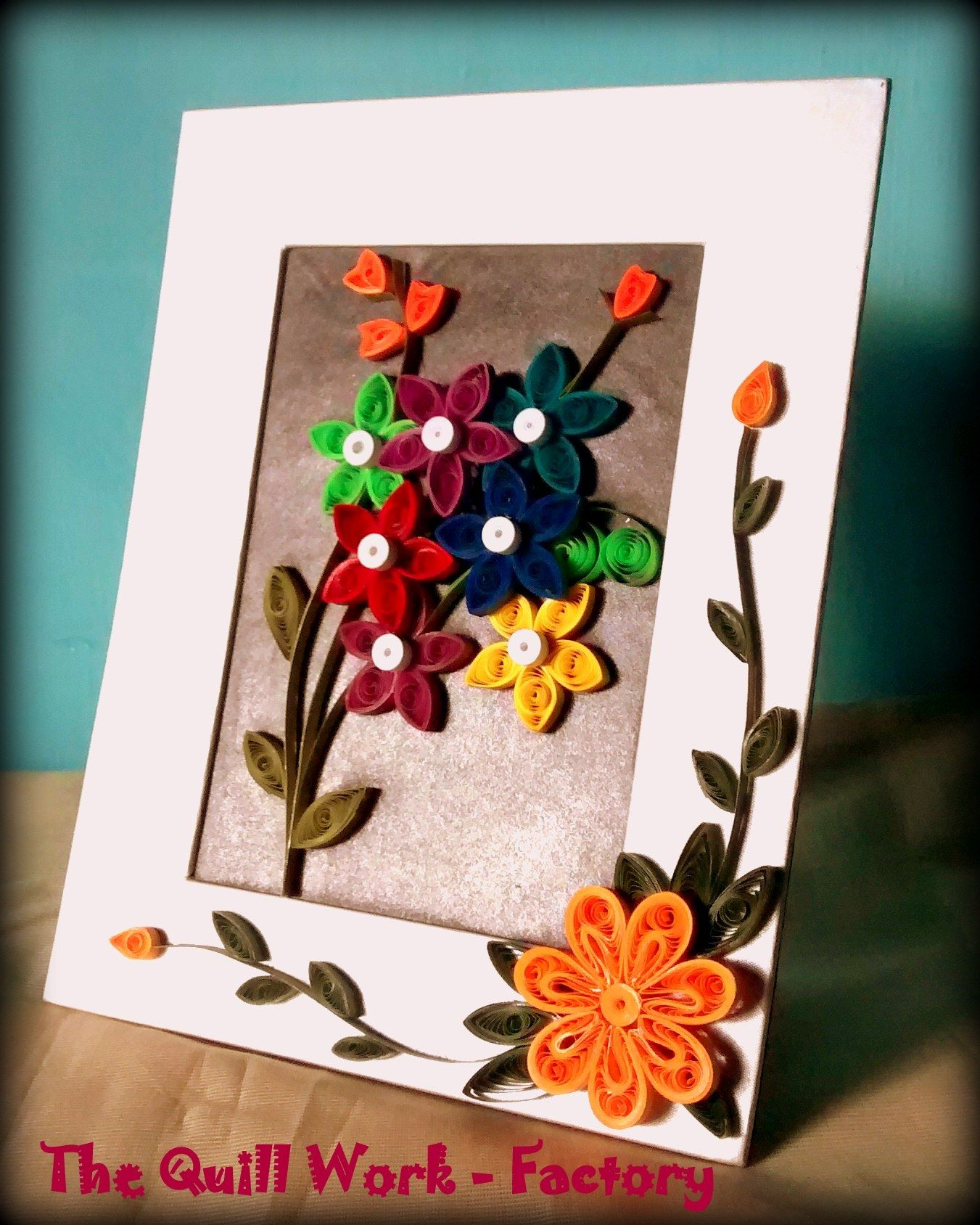 Quilling Home Decor Diy Wall Hanging Ftom Waste Cd And Paper Quilling Home Decor Diy