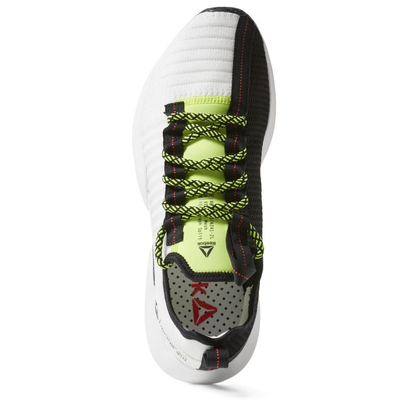 Sole Fury White / Black / Red / Lime