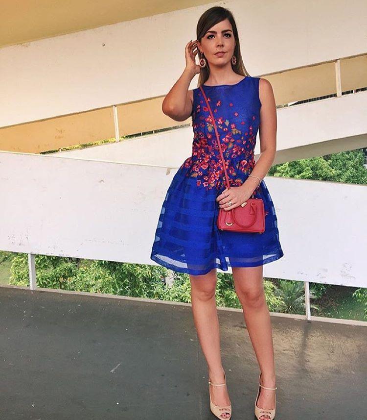 """""""Blue!  Amamos a linda @mazanetti com vestido PatBo verão 2016! ✨ #PatBo #verão2016"""""""
