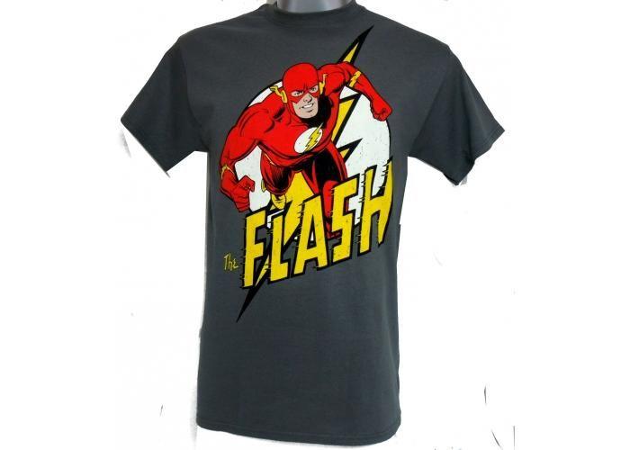 a6e2bc594a8 Dibujo Comic Flash - Grís - Hombre Playera manga corta, elaborada 100% de  Algodón
