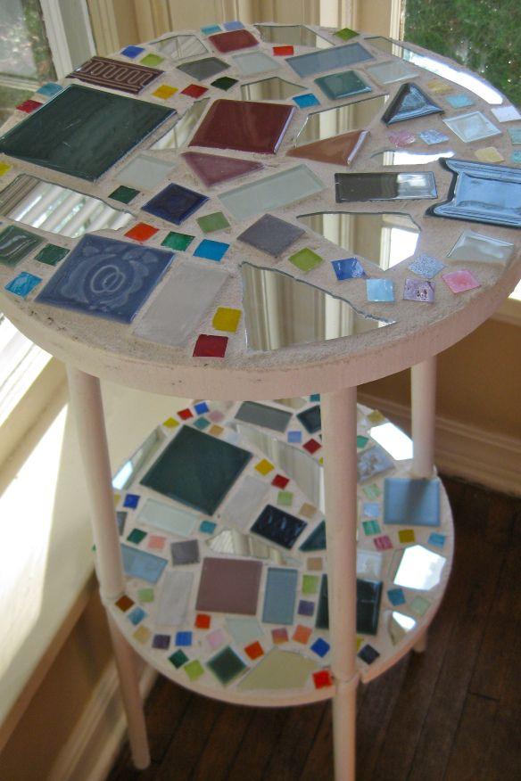 Diy Mosaic Table Mosiac Pinterest Mosaics Craft And Mosaic Tables