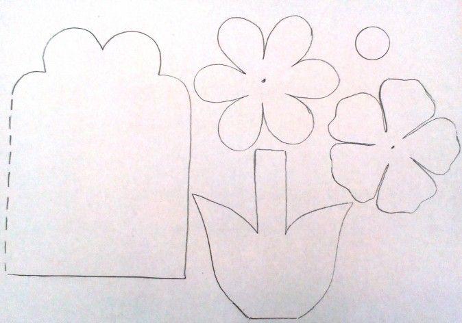 Открытка на 8 марта своими руками 2 класс шаблоны, открытки дню
