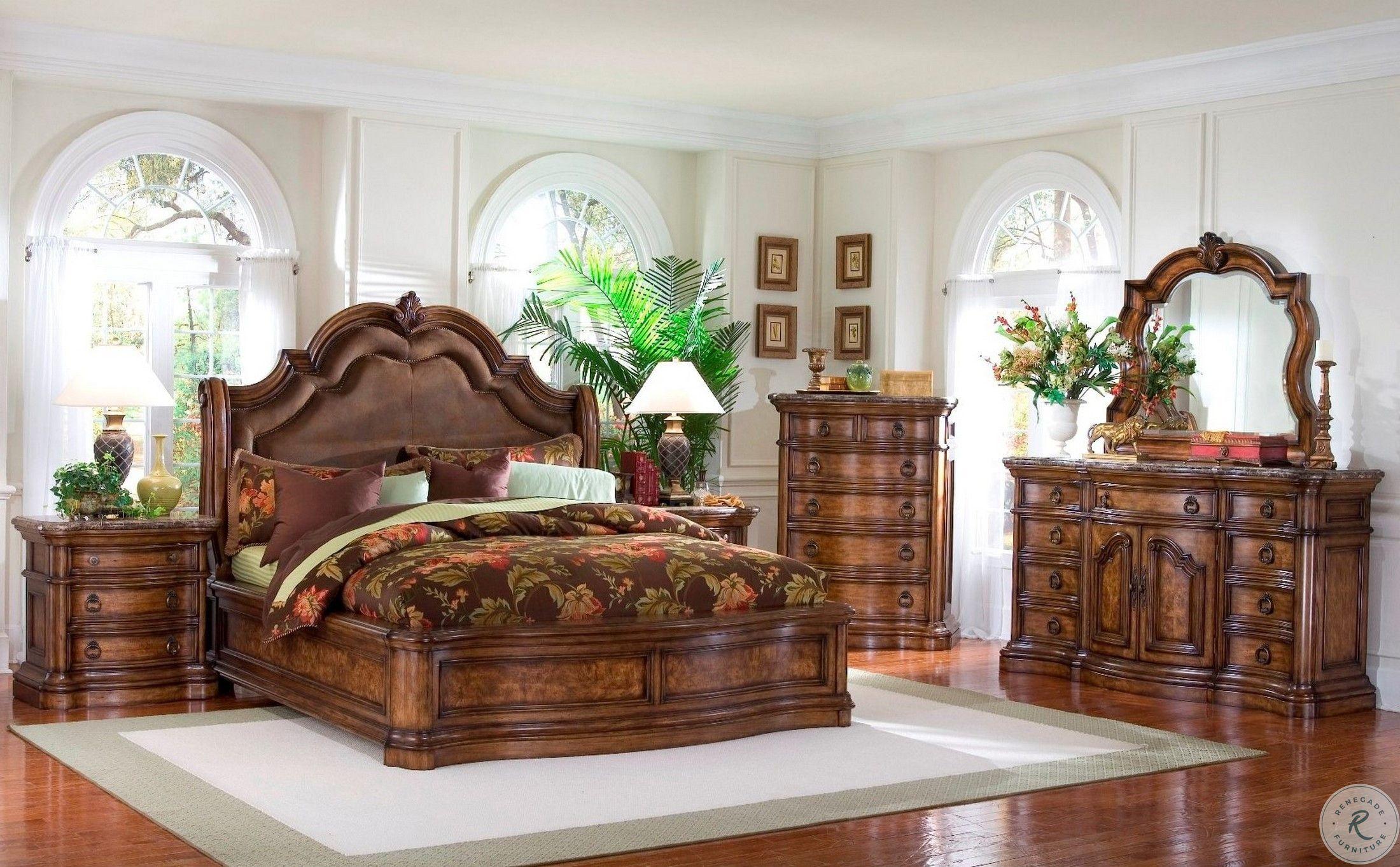 Old World Estate Bedroom Set Queen Sized Bedroom Sets Bedroom Set King Size Bedroom Sets